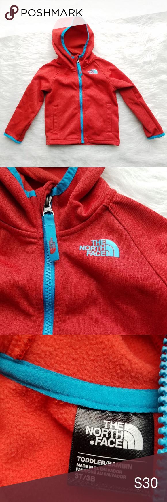 The North Face Kids Hoodie Red Orange Jacket 3t North Face Kids Red Hoodie Orange Jacket [ 1740 x 580 Pixel ]