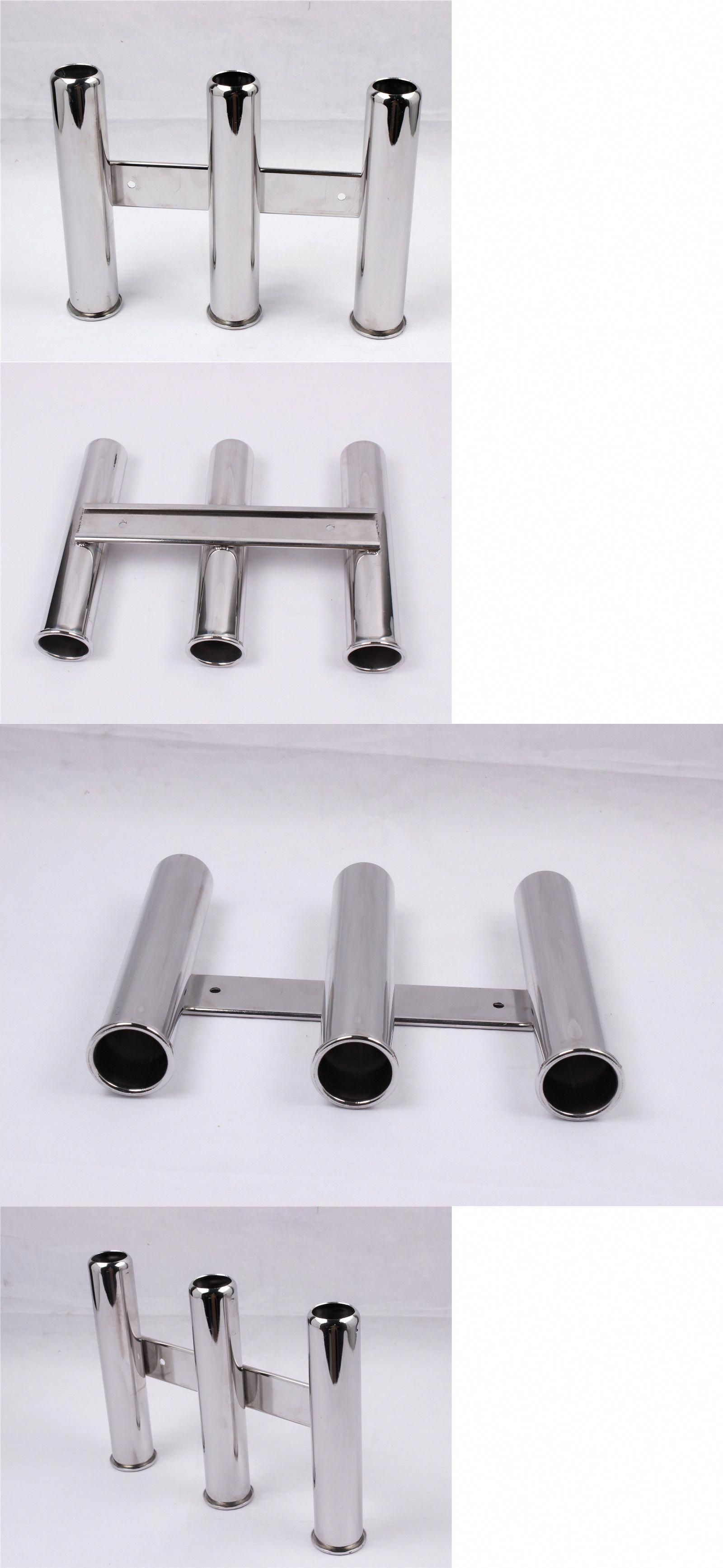 Pro Marine Boat Fishing Rod Pole Holder Rack Rest Stand 316 Stainless Steel