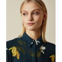 Photo of Blouse With Button Front And Savanna Print Ted BakerTed Baker