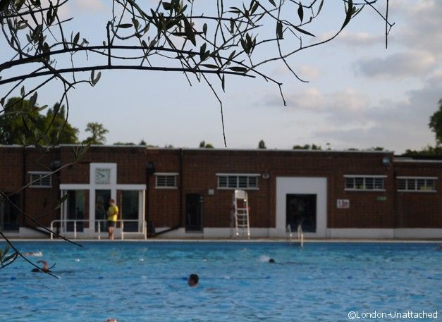 The Lido Cafe, Brockwell Park