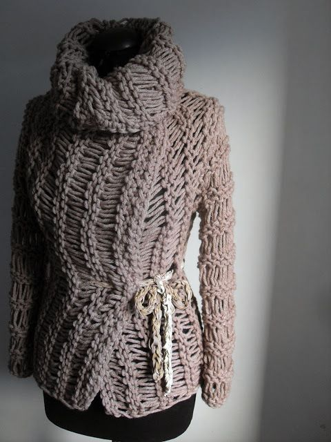 Beige Sweater Cable Knitting Design Sweaters Fashion Photography