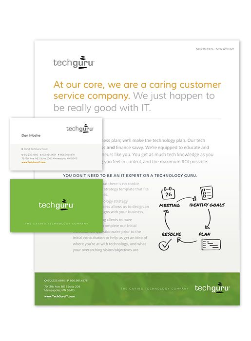 Web Design by Windmill Design for Optimize Communication Services - technology plan template