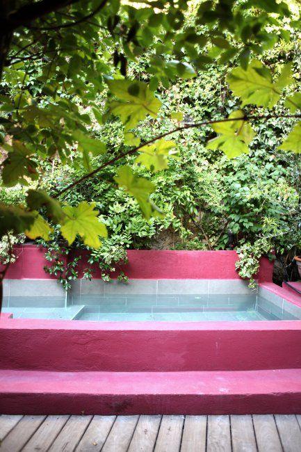 chambre hote marseille: le patio-jardin, les chambres d'endoume