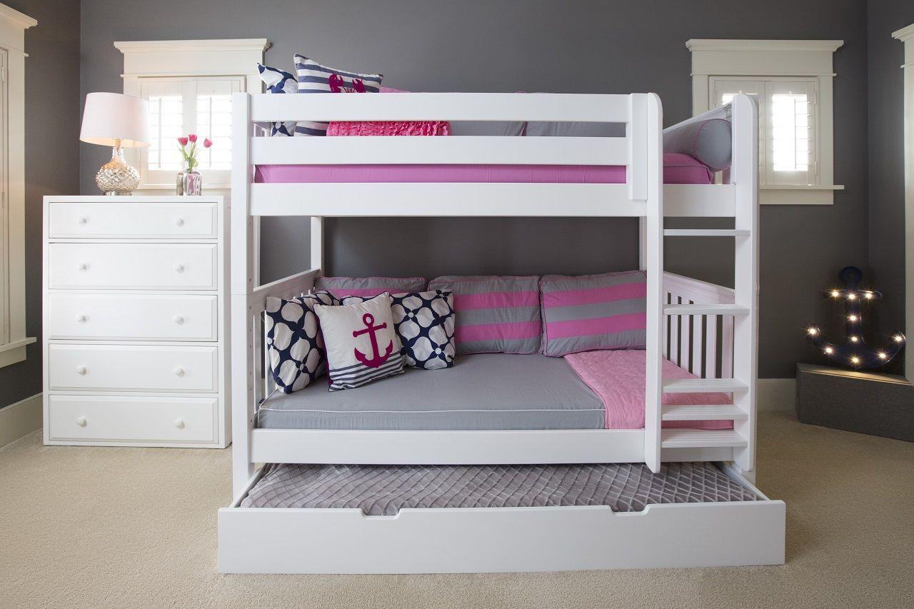 Twin Medium Bunk Bed Beautiful Bed Designs Kids Bedroom