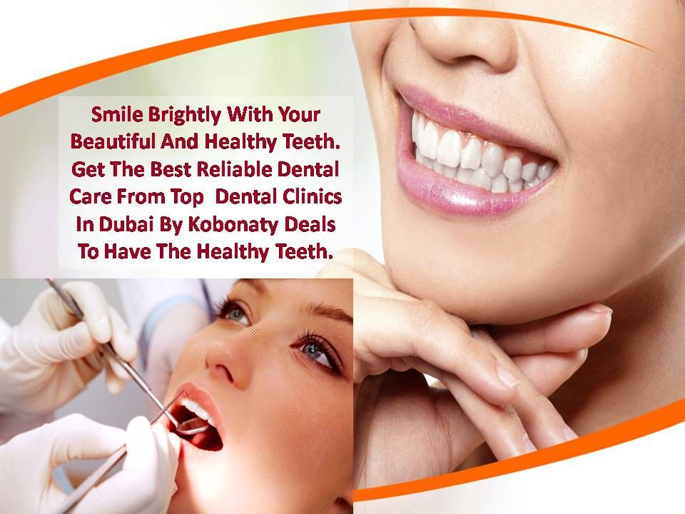 Smile Brightly With Your Beautiful And Healthy Teeth. Get The Best Reliable Dental Care From Top  Dental Clinics In Dubai By Kobonaty Deals To Have The Healthy Teeth. http://www.kobonaty.com/en/index/category/dental-clinics-in-dubai