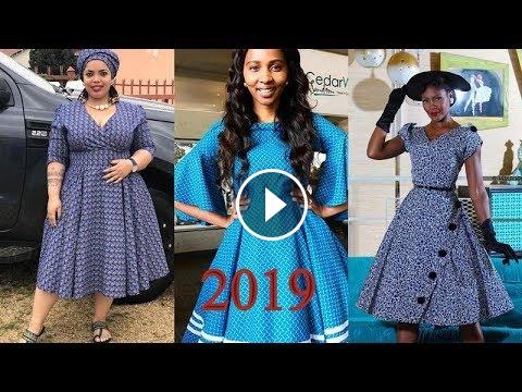 f17cc300c18 LATEST  LESOTHO SESHOESHOE DRESSES 2019 FOR WOMEN  TRENDIEST   SUPER  STYLISH SHWES AFRICAN DRESSES