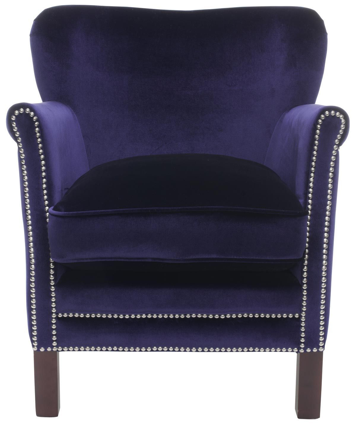 Best Studded Navy Blue Accent Chair Blue Accent Chairs Blue 640 x 480