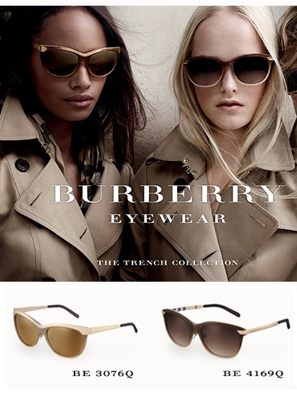 2b7060ef4621 Burberry Trench Collection sunglasses. | fashion trends | Fashion ...