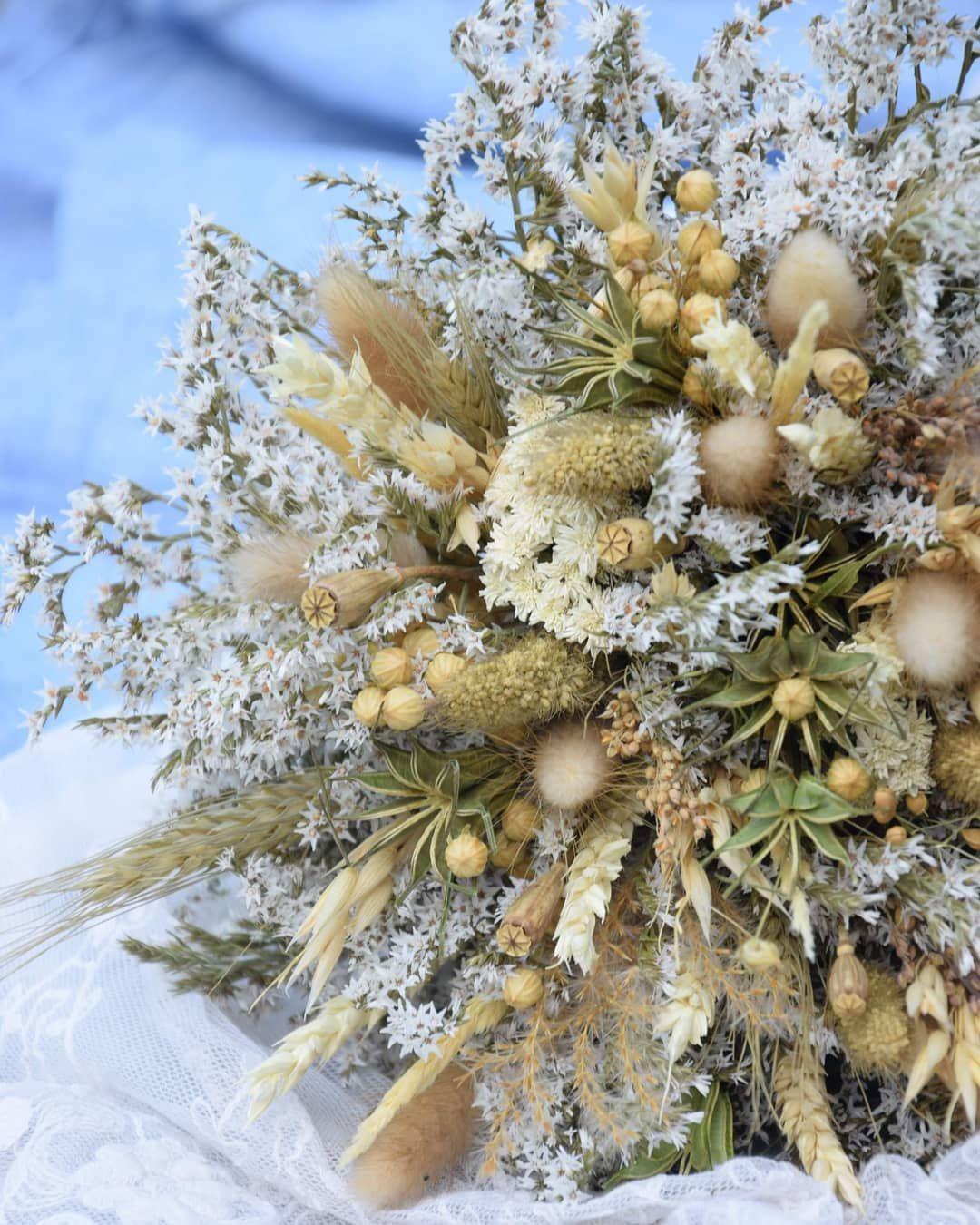 Suche Bukiety Rusticwedding Rusticbride Driedflowers Bukietslubny Iloveflower Inspirebynature Su Rustic Wedding Bouquet Rustic Bouquet Dried Flowers