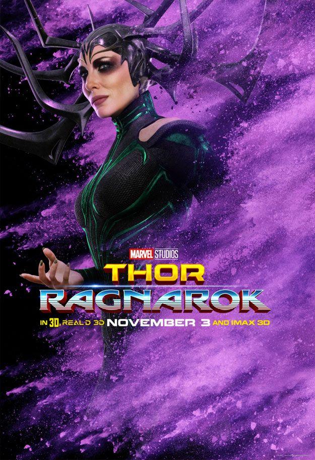 Nuevo Cartel De Thor Ragnarok Magnificos Superheroes Poster De Peliculas