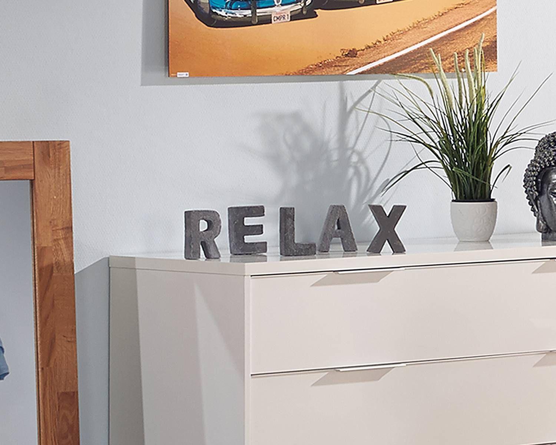 Deko-Buchstaben aus Zement »Relax« - Wohnaccessoires - Für alle Räume - Dänisches Bettenlager