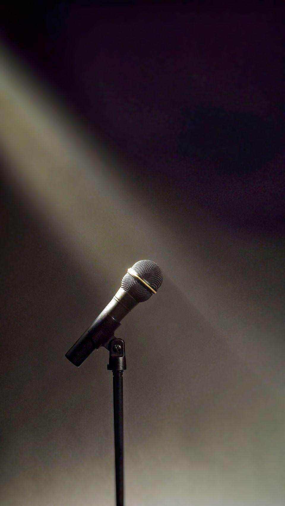 Microphone light iphone 7 wallpaper wallpaper in 2019 - Microphone wallpaper ...