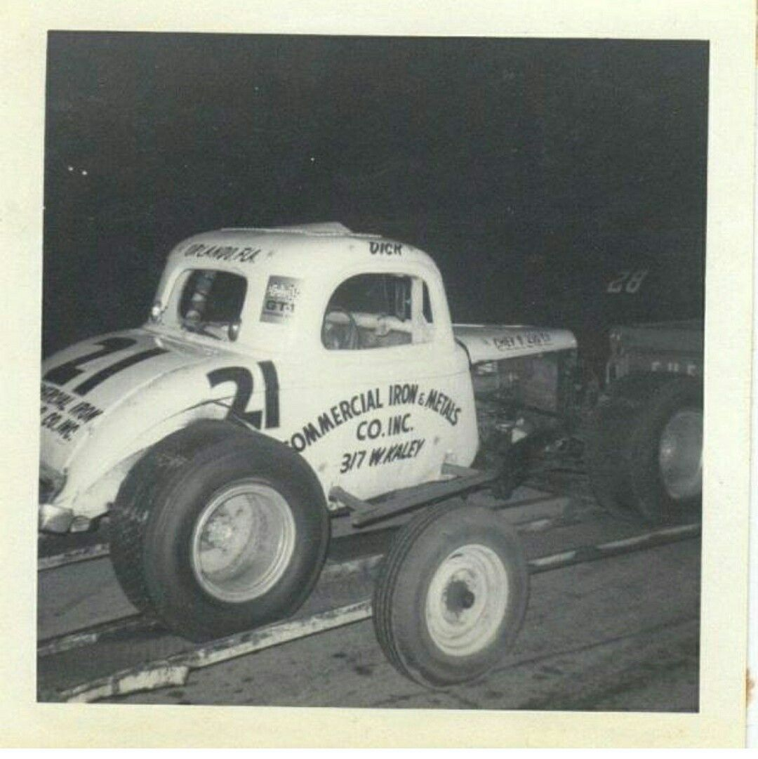 Stock Car Image By Alan Braswell On Dirt Track