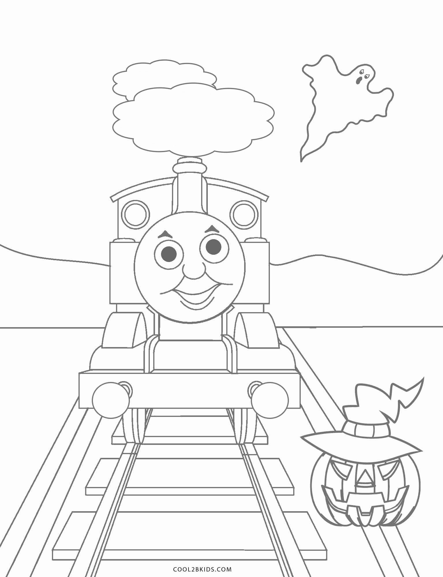 Toy Train Coloring Pages Awesome Free Printable Thomas The Train