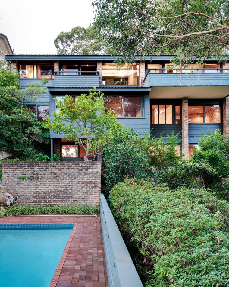 Architect designed house for sale deepwater road castle cove sydney nsw erby by devine   mid century homes furniture and decor also rh pinterest