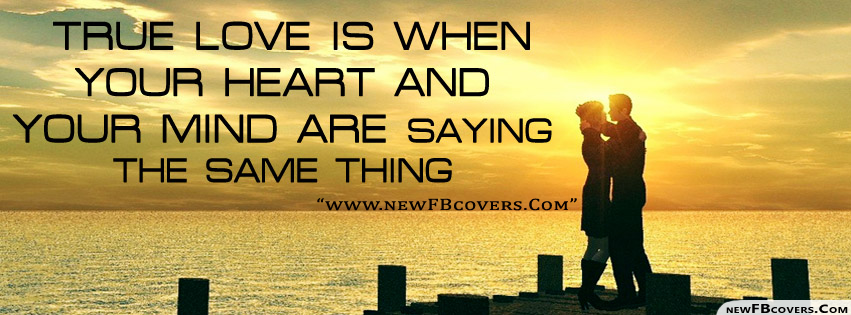 True Love Image For Facebook Timeline Cover