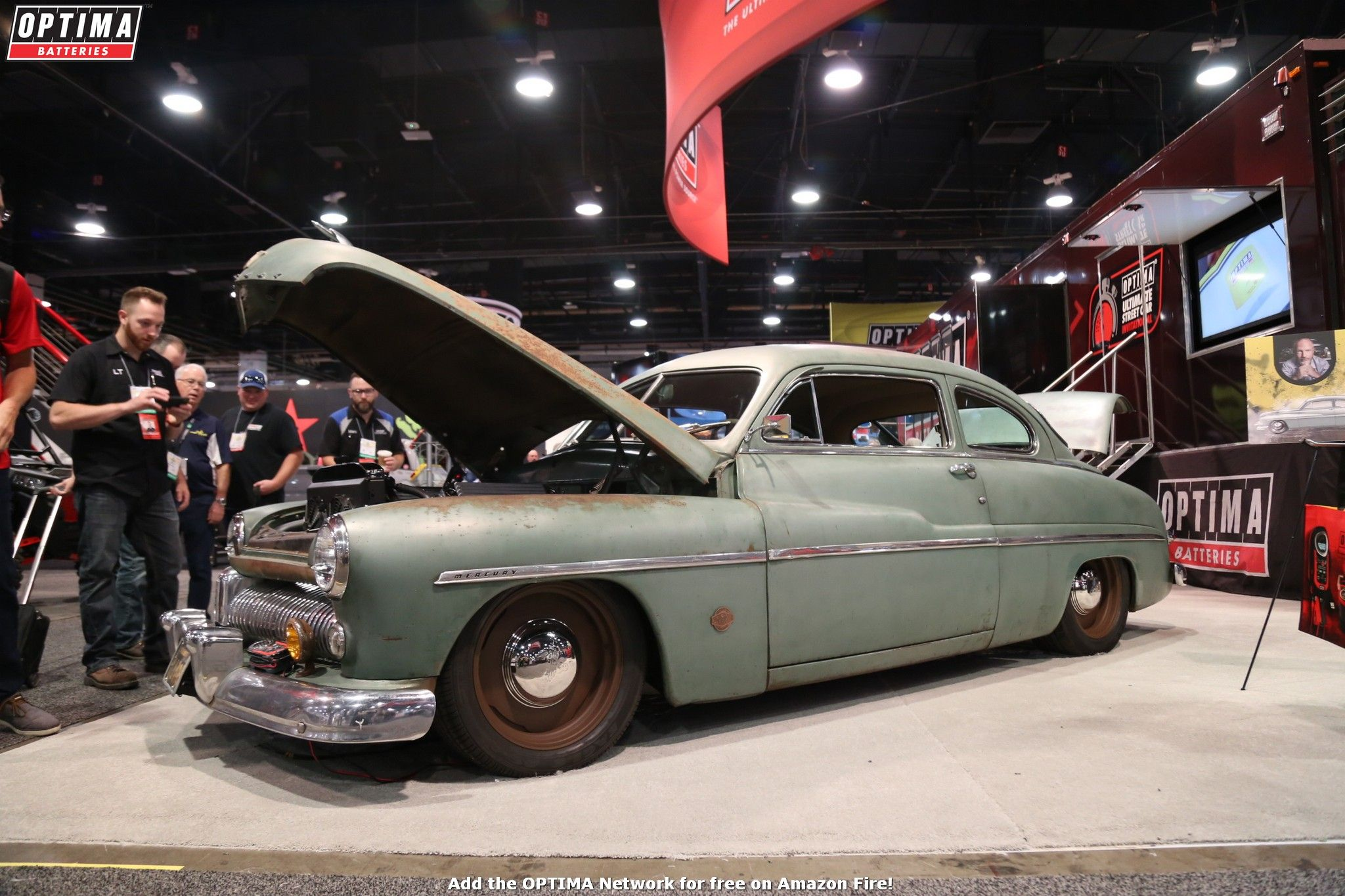 Jonathan Ward's 1949 Mercury Coupe EV appeared in the
