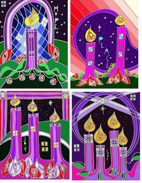 Church Bulletins: Advent Covers | Advent art, Christmas art projects,  Christmas art