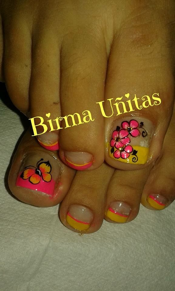 Pin by Milena Parra on uñas milena | Pinterest | Pedicures, Toe nail ...