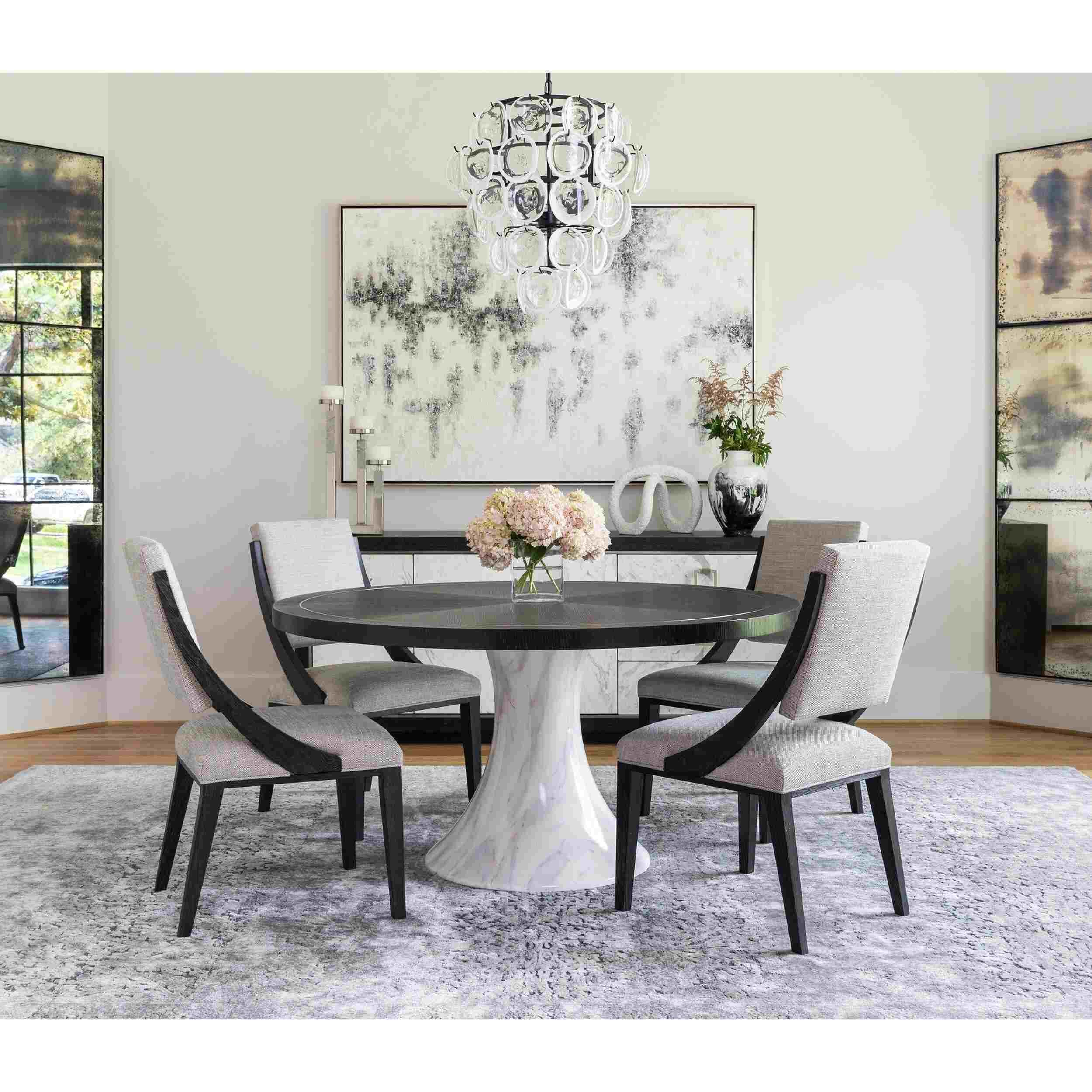 Contemporary Round Dining Room Sets   Round dining room sets ...