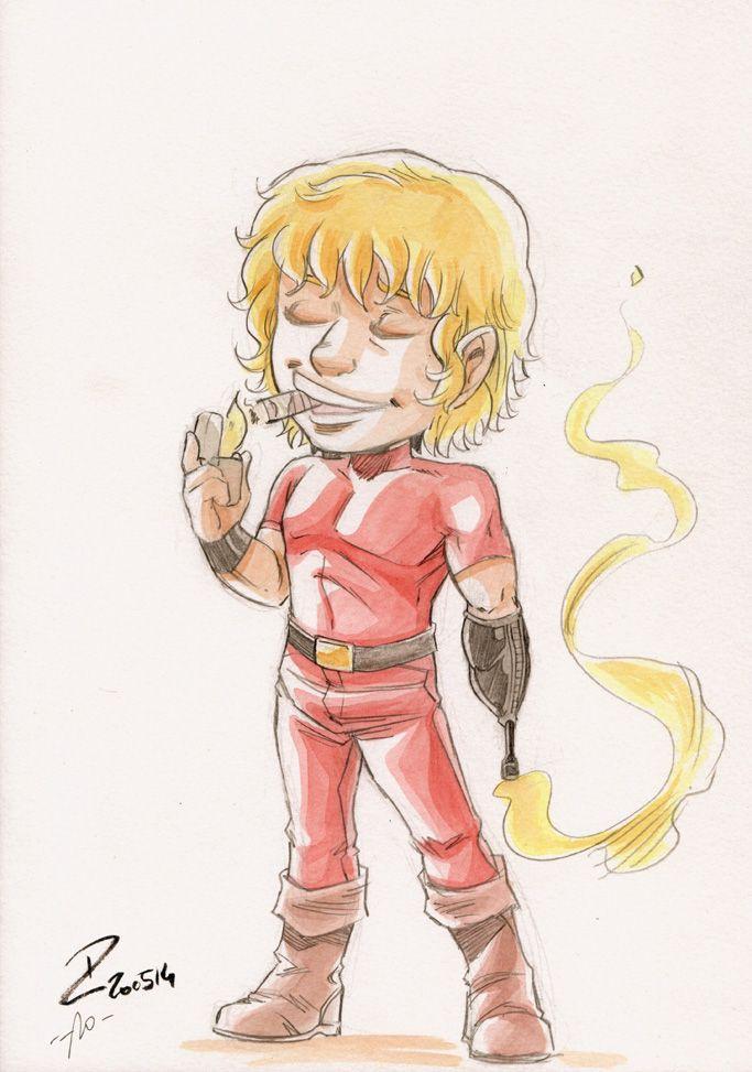 Watercolor Space Adventure Cobra Space Adventure Cobra Manga Tattoo Japanese Cartoon