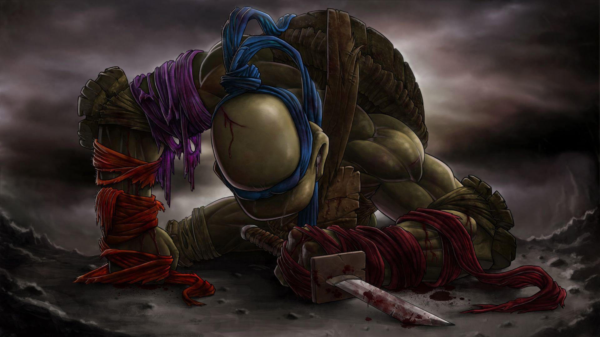 Leonardo Teenage Mutant Ninja Turtles wallpaper Tmnt
