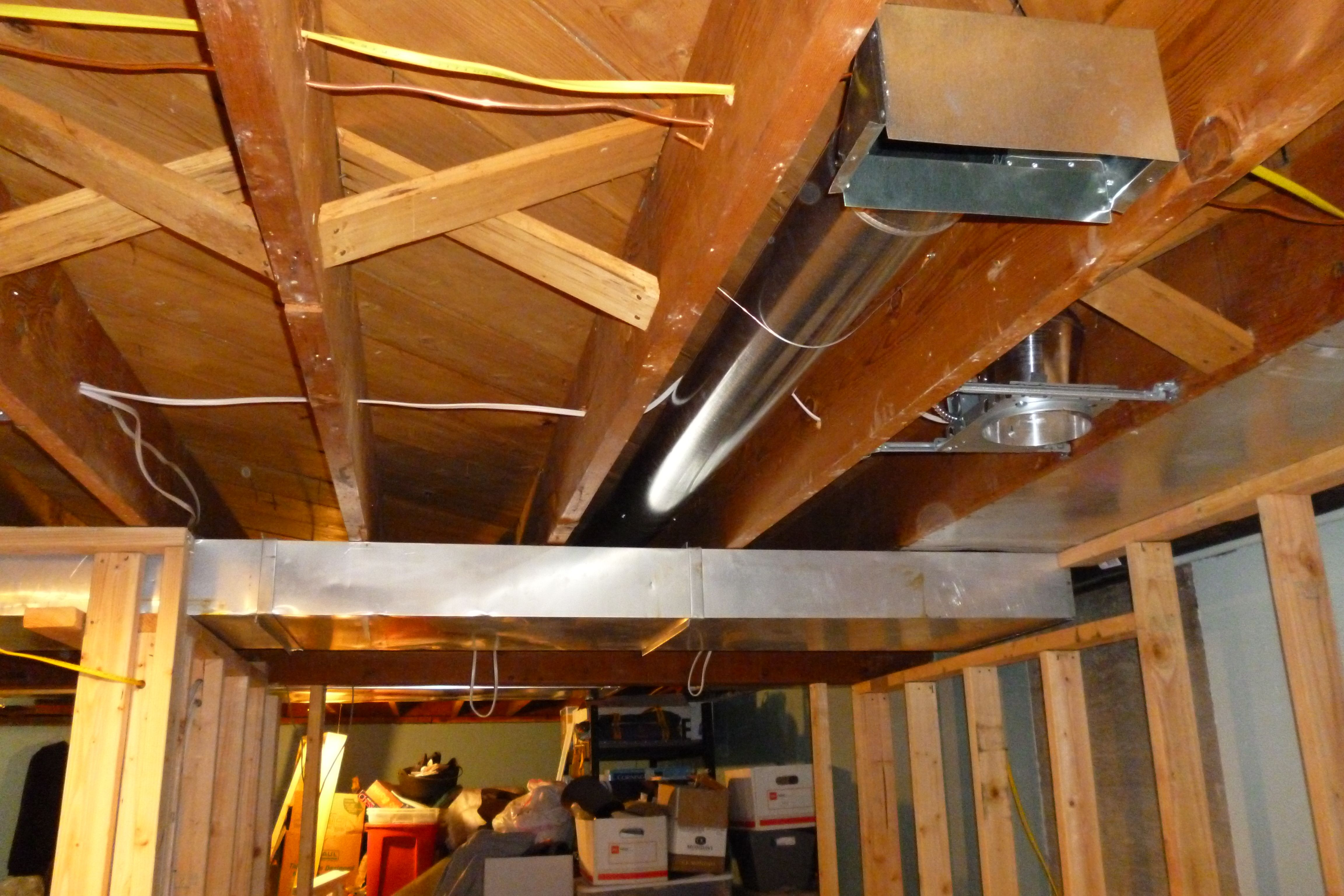 Image Result For Basement Ceiling Beams Low Ceiling Basement Low Ceiling Basement Ceiling