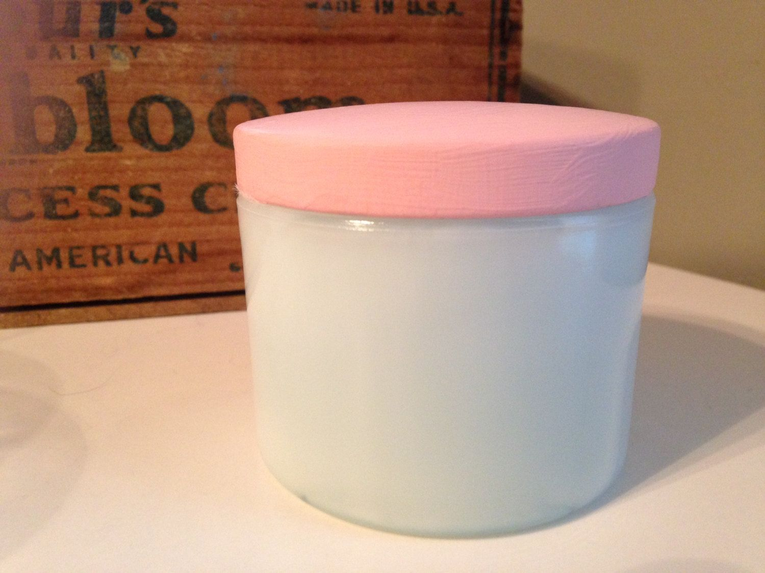 cold cream jar vintage cold cream milk glass jar cosmetic glass