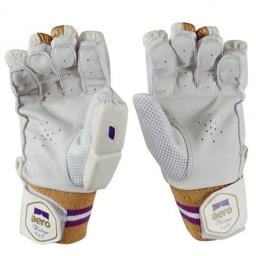 Aero Vintage 3 Star Junior Cricket Batting Gloves Batting Gloves Protective Clothing Gloves