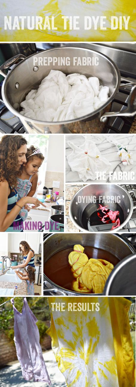 Natural Tie Dye Diy Results Toolstipsand Instructions