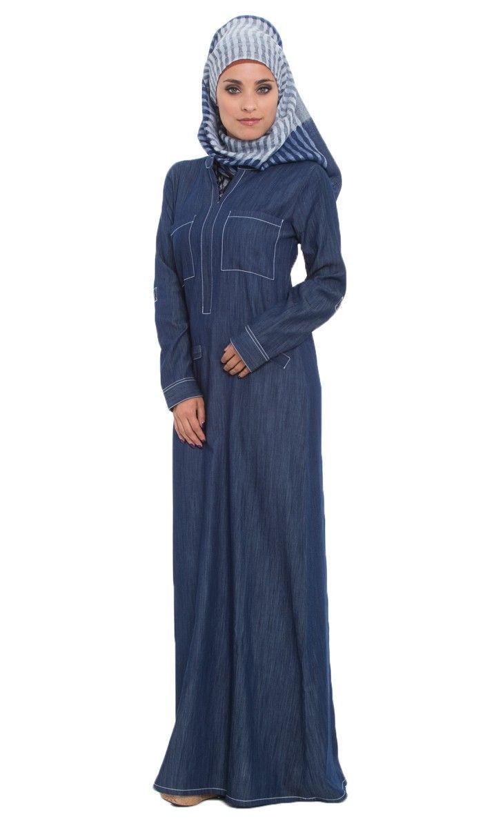 Denim maxi dress blue denim maxi dress with adjustable sleeves