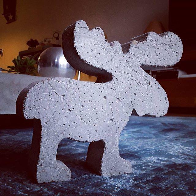Concrete Rudolph hohoho concrete rudolph is looking for dasher dancer prancer