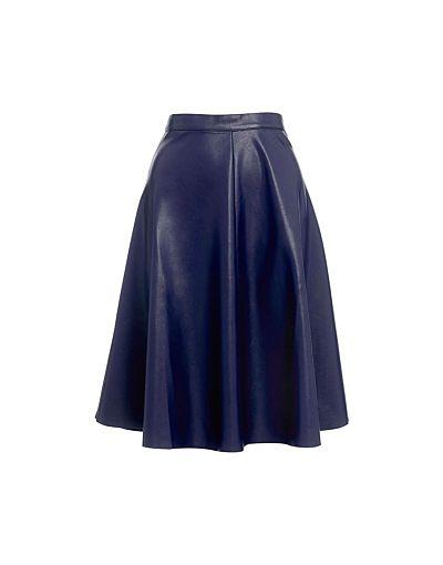 Whistles Katia Circle Skater Skirt #refinery29