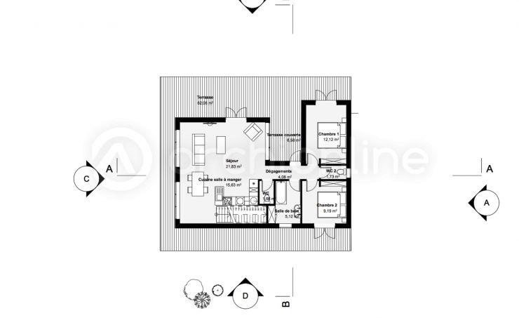 Maison Cerise  une maison Moderne conçue par lu0027architecte François