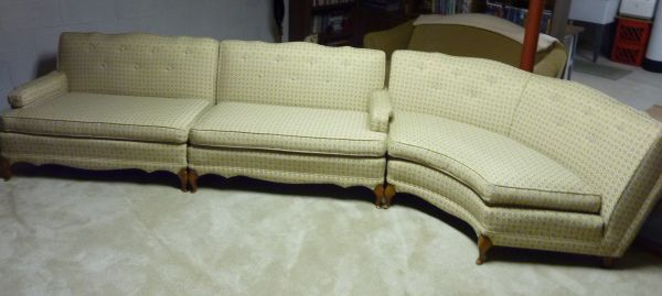Sectional Sofa -- Vintage 1959. (With images)   Vintage ...
