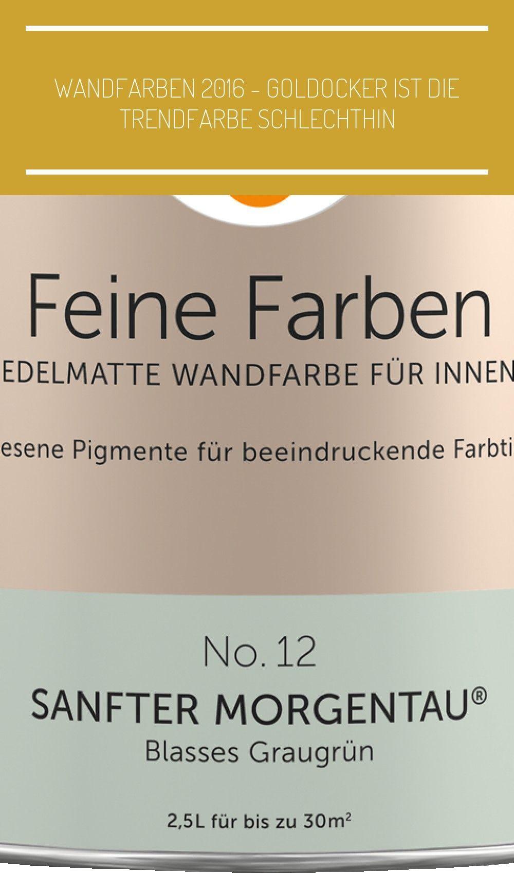 Alpina Feine Farben No 12 Sanfter Morgentau Blasses Graugrun