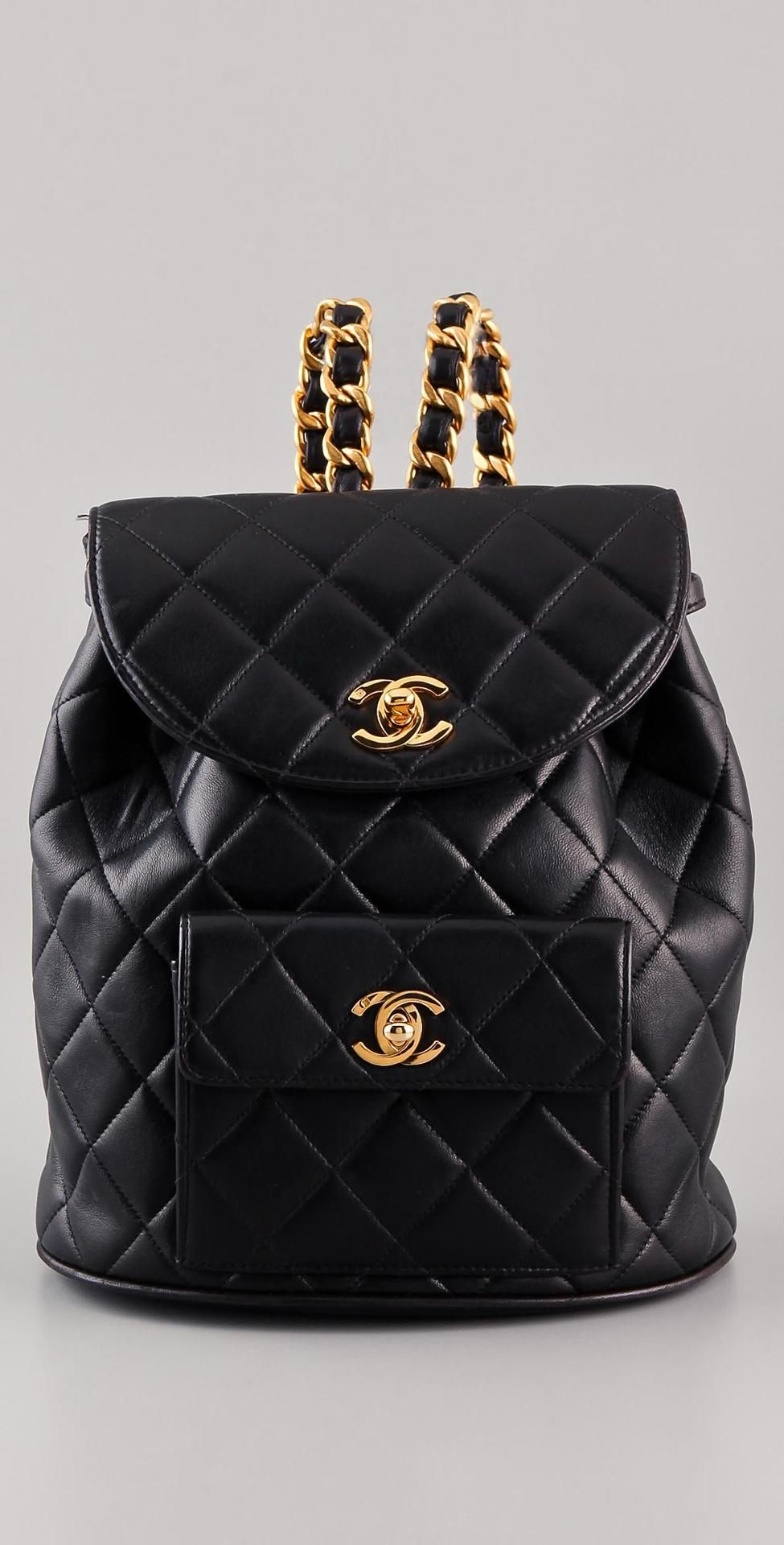 a017b93d20130 vintage chanel CC backpack More