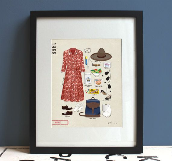 And this elaine benes poster because she   our fashion icon ts every girl will want to keep for herself also diy rh pinterest