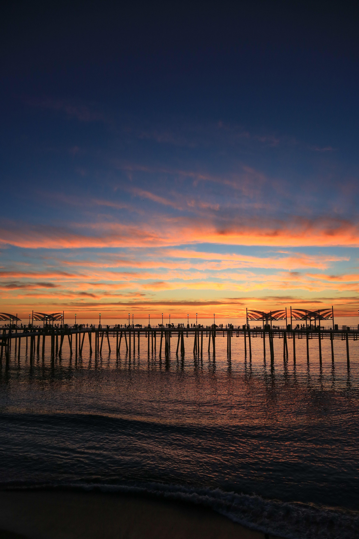 Sunset Across The Redondo Beach Pier #VisitRedondo