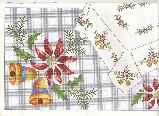 Manteles de navidad mantel manteles de navidad y punto - Manteles de navidad ...