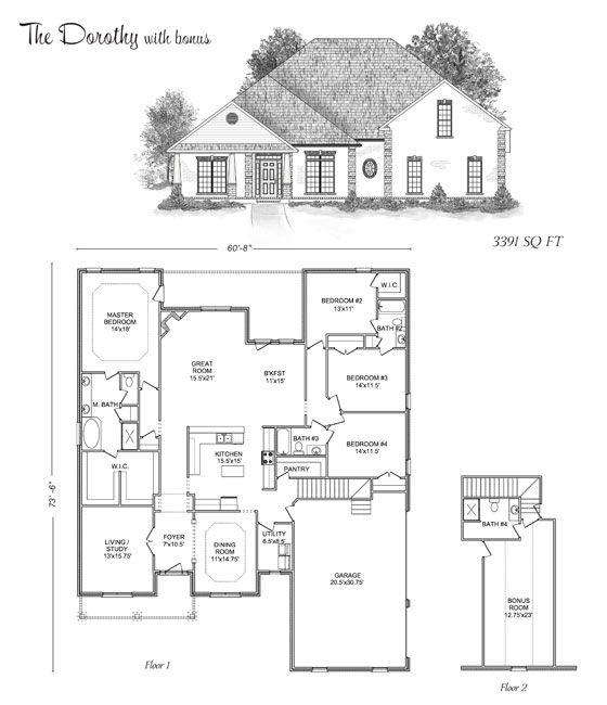 The Dorothy Stoneridge Homes Huntsville Al Custom Home Builders And Madison County Alabama