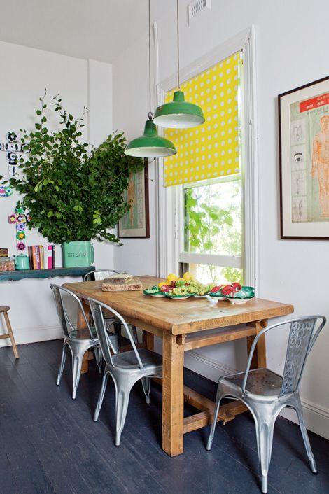Un apartamento que mezcla estilos con acierto   Comedores ...