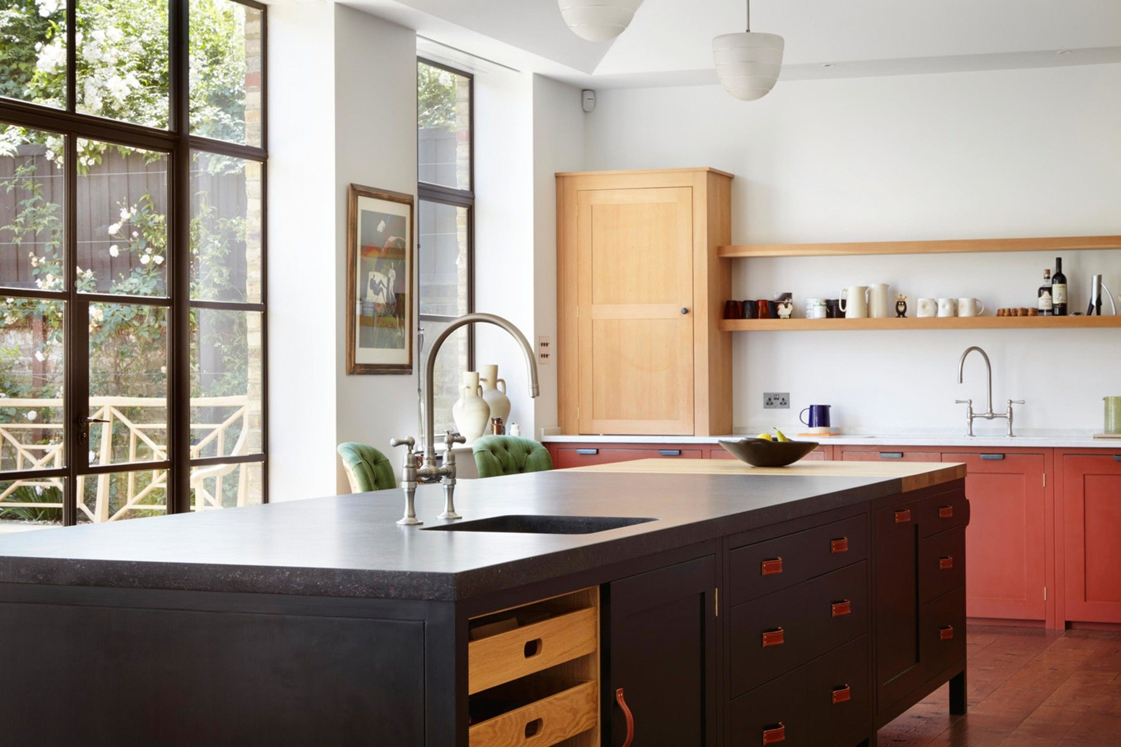 Move Over Two Color Tuxedo Kitchens A Big New Trend Is Here Kitchen Design Plain English Kitchen Kitchen Trends Grey Kitchen Designs