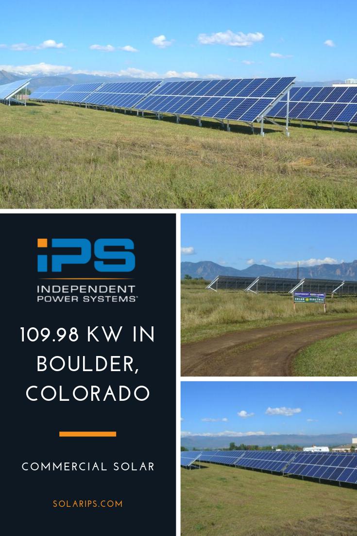 Boulder Valley Christian Church Bouldering Solar Solar Projects