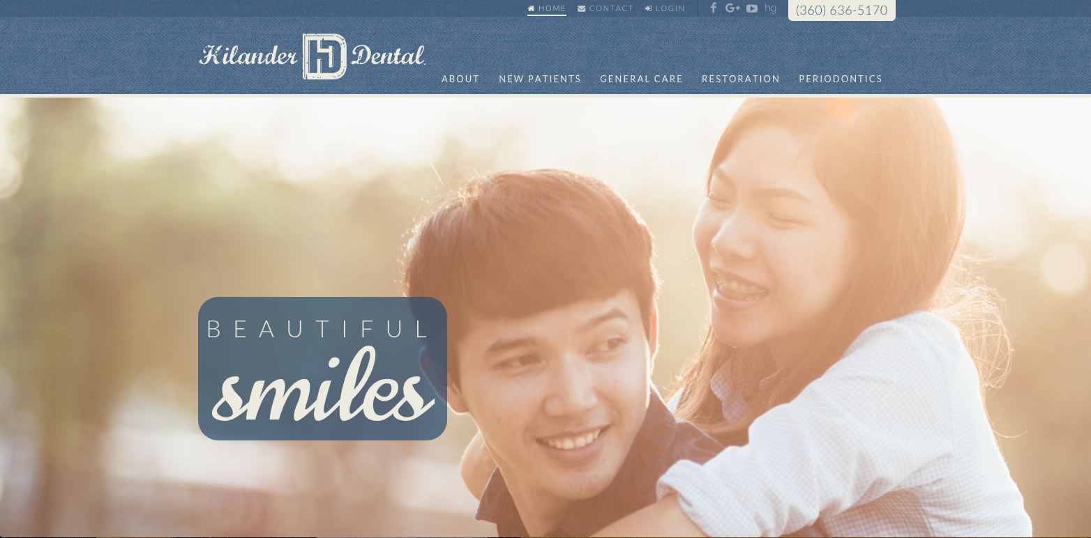 #sesamewebdesign #psds #dental #responsive #topnav #top-nav #sticky #blue #texture #sans #script #brown #fullwidth #full-width
