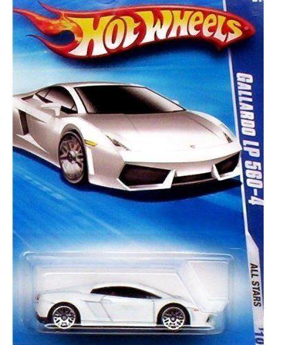Hot Wheels 2010 All Stars 03 Of 10 White Gallardo Lp 560 4 By Hot