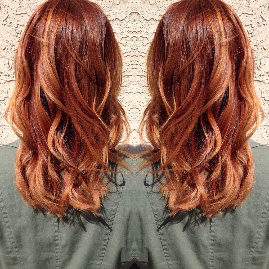medium copper blonde hair hair by madison