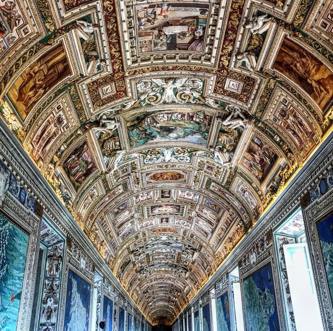 Art & Geography  #art #geography #geographicmap #galleryofmaps #perfection #details #gallery #vaticanpalace #museivaticani #vaticancity #vaticano #vatican #rome #romacapitale #italy #painting #vault #roma #architecture #architecturelovers #archilovers #pope #nofilter #iphone7 #history #discoverhistory #discoveritaly