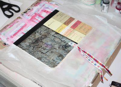 @: Making a Composition Book into a Journal  (Tutorial) via lilblueboo.com
