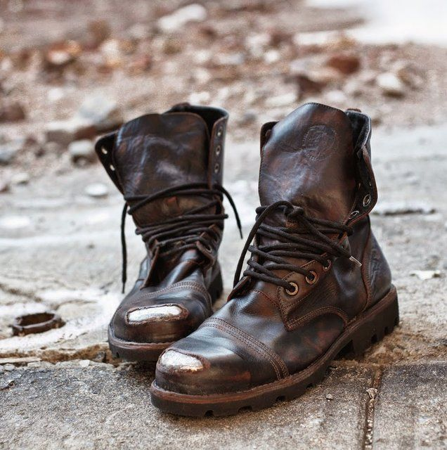 37c81b8a3b9 A pair of boots that can take a beating, The Steel Boots by Diesel ...